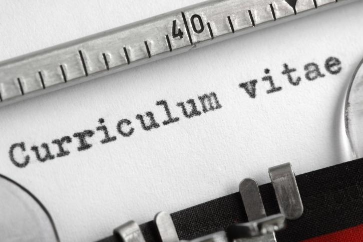 CV typewriter