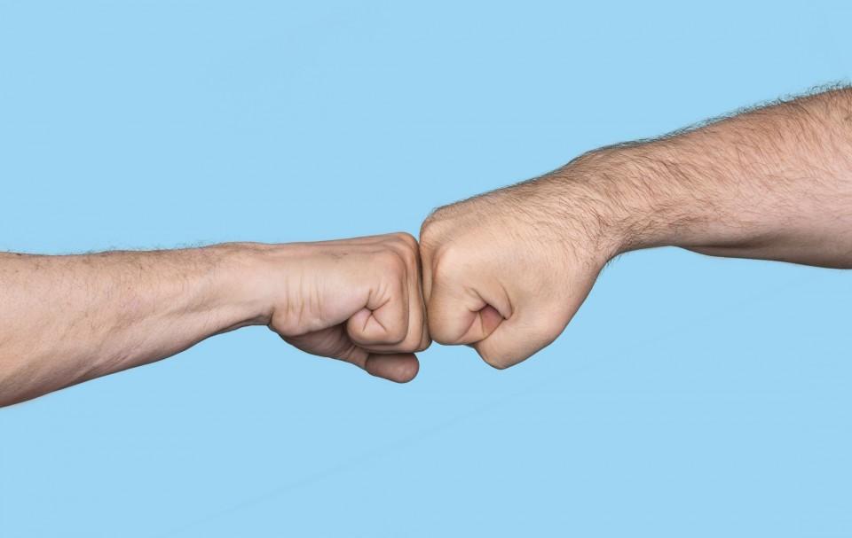 Should the fist bump replace the handshake mouthing off blog of should the fist bump replace the handshake m4hsunfo